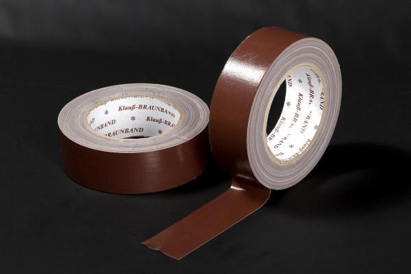 Turino-B Braunband Premium UV-Gewebeband