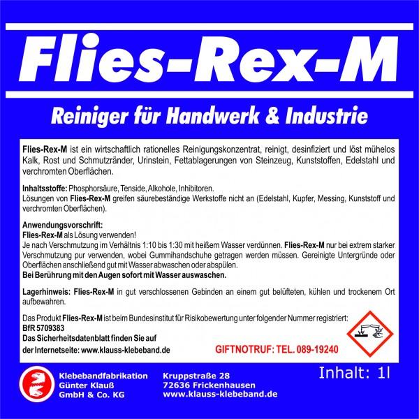 Flies-Rex-M Handwerk- und Industriereiniger