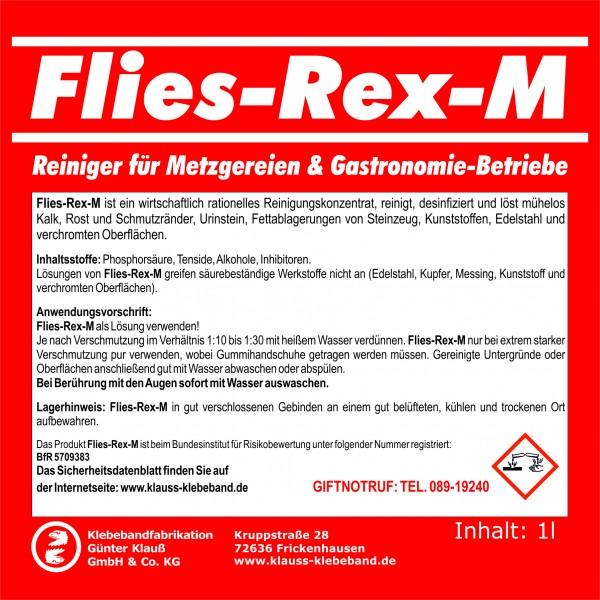 Flies-Rex-M Metzger– u. Gastronomie-Reiniger